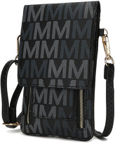 Mkf Collection By Mia K. MKF Collection by Mia K. Women's Handbags - Black Signature 'M' Phone Cellphone Crossbody
