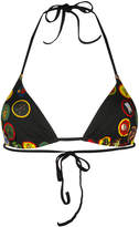 DSQUARED2 patch-work bikini top