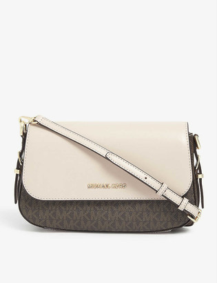 MICHAEL Michael Kors Bedford Legacy coated-canvas cross-body bag