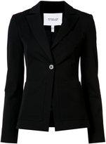 Derek Lam 10 Crosby patch pocket blazer - women - Rayon/Polyester/Cotton/Elastodiene - 0