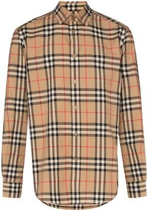 Burberry Caxton Vintage Check print shirt
