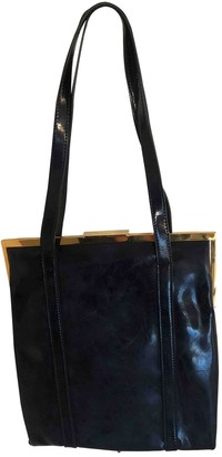 Marni Blue Patent leather Handbags