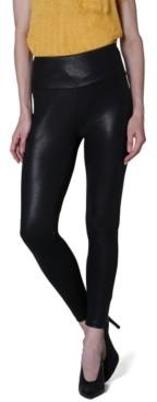 No Comment Ultra Flirt Juniors' Faux-Leather Leggings