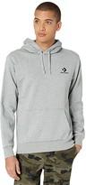 Converse Star Chevron Embroidered Pullover Hoodie (Vintage Grey Heather) Men's Sweatshirt