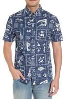 Reyn Spooner Stories from the East Regular Fit Sport Shirt