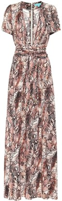 Melissa Odabash Lou snake-print maxi dress