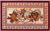 Avanti Hearts & Stars Rectangular Bath Rug