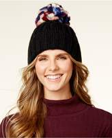Steve Madden Over The Top Ribbed Knit Cuff Beanie
