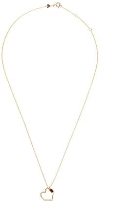 ALIITA Corazon Baguette 9kt gold necklace