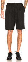 Marni Light Washed Cotton Twill Shorts