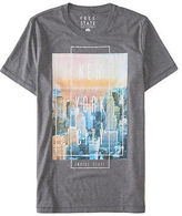 Aeropostale Mens Free State Nyc Color Photo Graphic T Shirt