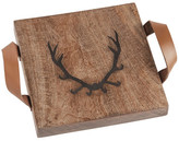 Mud Pie Brown Small Stag Wellintree Board