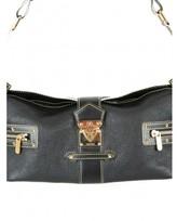 Louis Vuitton excellent (EX Black Suhali L'Impetueux Gold Stud Leather Hobo Bag