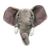 Wild & Soft Bibib Elephant trophy soft toy