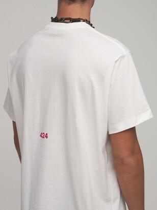 424 Printed Cotton T-Shirt