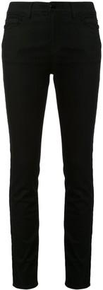 Emporio Armani Side Logo Stripe Skinny Fit Jeans