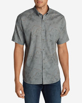 Eddie Bauer Men's Vashon Short-Sleeve Shirt - Print