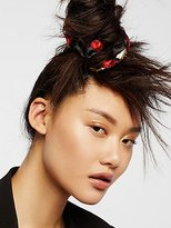 Free People Embroidered Scrunchie