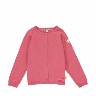 Steiff Girls' mit Schleife und Teddybarmotiv Cardigan Sweater