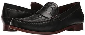 Trask Slade (Black Sheepskin) Men's Slip-on Dress Shoes