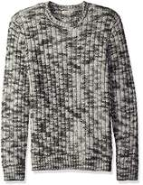 Calvin Klein Jeans Men's Basket Rope Crew Neck Sweater