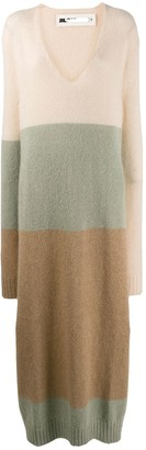 Jil Sander colour block dress