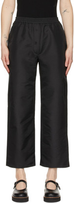 Cecilie Bahnsen Black Amber Trousers