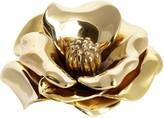 Oscar de la Renta New York Botanical Garden Magnolia Brass Paperweight