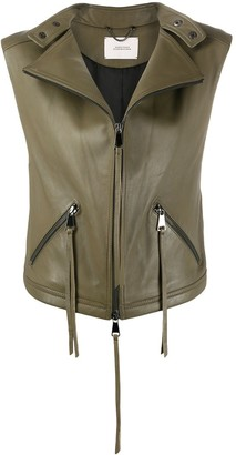 Dorothee Schumacher Sleeveless Zipped Jacket