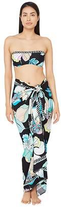 Trina Turk Sintra Flora Pareo Swimsuit Cover-Up (Multi) Women's Swimwear
