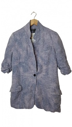 Elizabeth and James Blue Linen Jacket for Women
