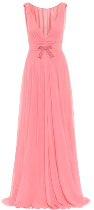Giambattista Valli Silk georgette gown