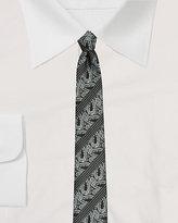 Le Château Reversible Paisley Print Tie