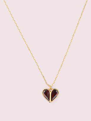 Kate Spade Rock Solid Stone Heart Mini Pendant