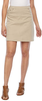 HEARTS OF PALM Hearts Of Palm Essentials Womens High Waisted Skort