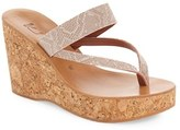 K Jacques St Tropez Women's K.jacques St. Tropez 'Saturnine' Cork Wedge Sandal