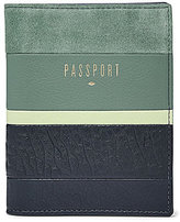 Fossil RFID Patchwork Passport Case