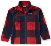 Columbia Big Boys 8-20 Zing III Buffalo Plaid Fleece Jacket