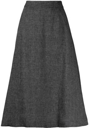 Societe Anonyme A-line midi skirt