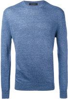Ermenegildo Zegna fitted knitted top - men - Linen/Flax - 48