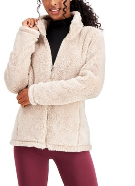 32 Degrees Fleece Stand-Collar Jacket