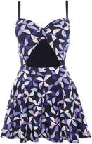 Kate Spade Spinner cut out swimdress