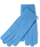Portolano Ribbed Knit Gloves