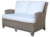 Panama Jack Exuma Loveseat Sunroom Upholstery Color: Rave Spearmint