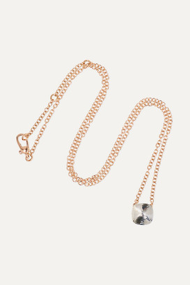 Pomellato Nudo 18-karat Rose And White Gold Topaz Necklace - Rose gold