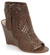 Vince Camuto 'Xabrina' Perforated Wedge Sandal (Women)