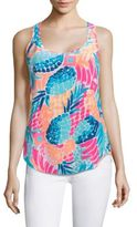 Lilly Pulitzer Alyssa Silk Top