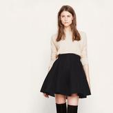Maje Short skirt in basketweave knit