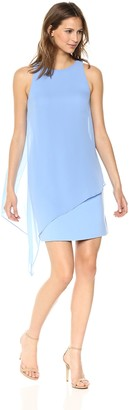 Tahari by Arthur S. Levine Women's Chiffon Overlay Dress