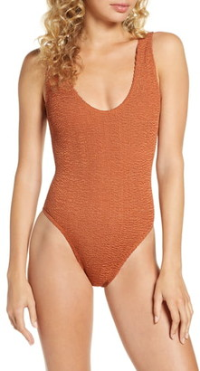 BOUND by Bond-Eye The Mara Ribbed One-Piece Swimsuit